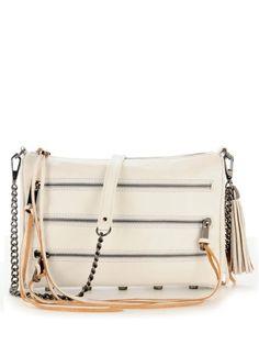 Rebecca Minkoff 5 zip clutch $182 on sale