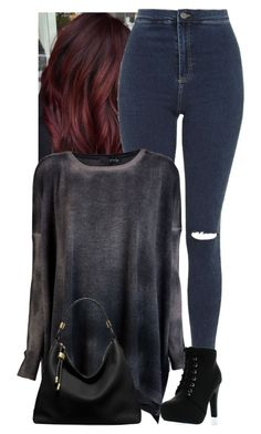 """""""Untitled #928"""" by bunnylovexox ❤ liked on Polyvore featuring Topshop, Avant Toi, Top Moda and Michael Kors"""