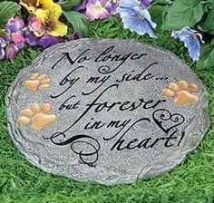 Image result for diy memorial pet garden