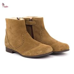 Start Rite New Jodie - Daim Beige Foncé - 27 - Chaussures start rite (*Partner-Link)