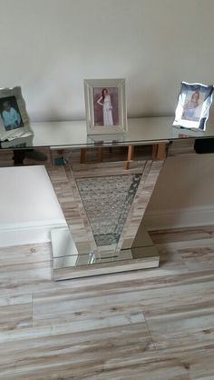 mirrored pyramid living room accent side end table wall decor ideas in india there s no place like home pinterest accents and