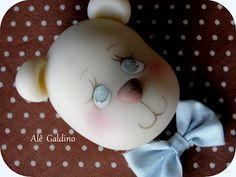 ARTENACUCA: Aplique ursinho bebê