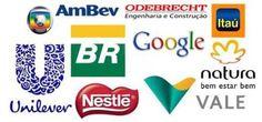 Conheça as 10 empresas que os jovens mais sonham em trabalhar.