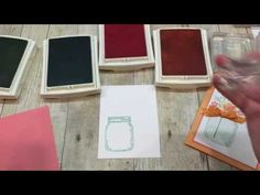How to make a simple Jar of Love Card - YouTube