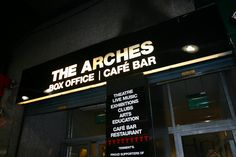 The Arches - one of Glasgow's best music venues. They also have a bar that serves great food. Highly recommend the burger!