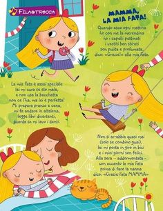 Mamma Bookmarks Kids, Nursery Rhymes, Back To School, Diy And Crafts, Projects To Try, Ideas, Madrid, Learning Italian, Spring