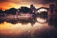 Mostar, Bosnia and Hercegovina, Stari Most, Old Bridge