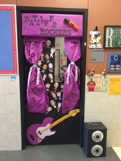 Hollywood Paparazzi Themed Classroom Door Ideas For My Future