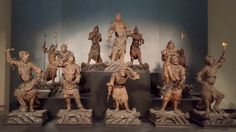 Fyuse - (-人-) #十二神将立像 #twelveheavenlygenerals #曹源寺 #仏像 #東京国立博物館 #TokyoNationalMuseum #Buddharupa #sogenji #art #museum #japan #fyuse #giz_fyuse