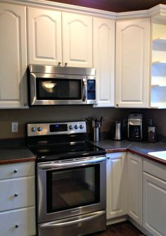 Wipe Down Kitchen Cabinets - Spring Cleaning 365