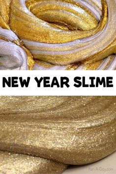 Make this easy homemade slime for New Years, a preschool Pirate unit to represent gold, or anytime you need a sparkly sensory activity! No borax and a ton of fun. #funaday #preschool #slime… More Preschool Pirate Theme, Pirate Activities, New Years Activities, Activities For Boys, Sensory Activities, Homemade Slime, Homemade Recipe, Crafts For Boys, Slime Recipe