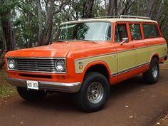 1975 International Travelall For Sale Kaneohe, Hawaii International Travelall, International Harvester Truck, International Scout, New Trucks, Custom Trucks, Cool Trucks, Wagons For Sale, Classic Chevy Trucks, Jeep Truck