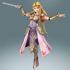 Hyrule Warriors: Skyward Sword update (July 2014) - Queen Zelda use the Wind Waker as a weapon | #Zelda #HyruleWarriors #WiiU