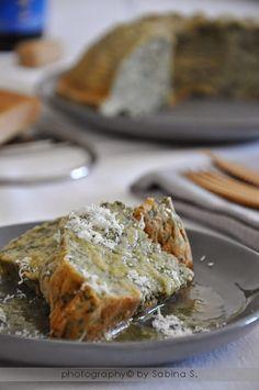 Soufflè di spinaci