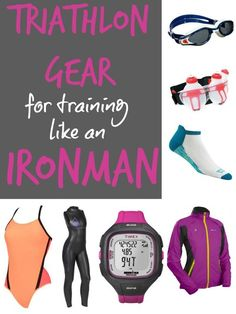Gear fit for an @Ironmantri Triathlete via @fitbottomedgirl