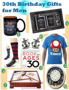 30th Birthday Gifts For Men Husband