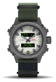The MTM Air Stryk II Watch is an elite aviation timepiece and an update to the original MTM Air Stryk collection.
