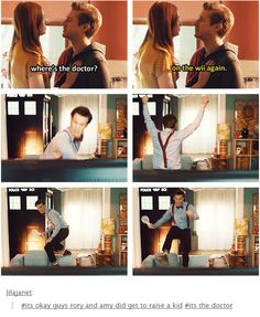 This scene was so cute!
