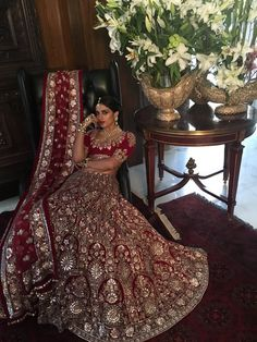 Classic Red :Timeless Bridal wear 2016 collection Old world craft     Traditional and cultural look is elegant.Nice combination of colours.