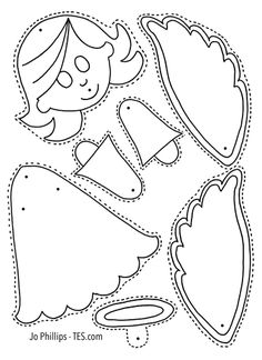 This fun and easy activity is perfect for children to colour, cut out, pin and play. A great craft activity which incorporat. Christmas Crafts For Kids To Make, Christmas Card Crafts, Crochet Christmas Ornaments, Christmas Templates, Christmas Activities, Christmas Printables, Christmas Colors, Holiday Crafts, Christmas Decorations