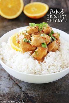 Pollo hornado a la naranja   31 versiones horneadas más saludables de comidas fritas