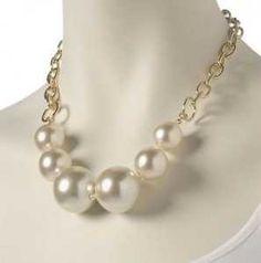 Lindos collares de perlas para boda  5
