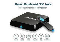 2017 Newest Model  M8S-II Android 5.1 TV Box with 1000M LAN 8GB ROM, Unique Server(OTA) and True 4K Playing, C$124.79