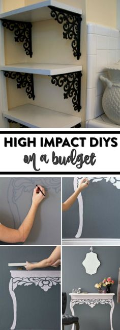 Today I want to share 17 High Impact DIYs On a Budget that will inspire you to start crafting. Some of these ideas you'll want to make today, I hope you enjoy.