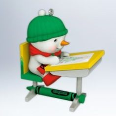 2012 CRAYOLA - A COLORFUL CHRISTMAS PICTURE Hallmark Ornament Mint in Box | The Ornament Shop