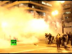 Occupy Oakland Tear Gassing