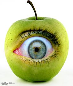"""Apple of my eye"" -this site has tons of idiom pictures"