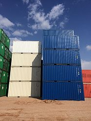 20'ft - 6m High Cube New Steel Container