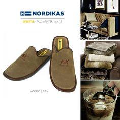 Nordikas Top Line. #Nordikas #Lifestyle #Leather #Piel #Calzadodehogar #Trend #MadeInSpain #FW1415