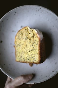 #cake #lemon #poppyseed