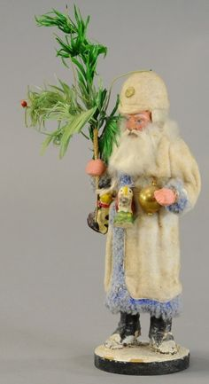RARE PRUSSIAN SANTA CANDY CONTAINER : Lot 1299