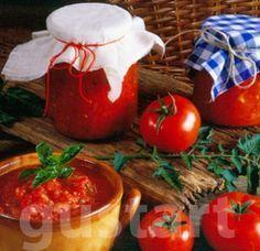 Lajos Mari konyhája - Paradicsomlekvár Parma, Ketchup, Pudding, Vegetables, Cooking, Desserts, Food, Syrup, Tomatoes
