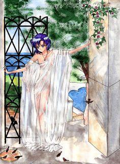 Ami chan by Aoyain on DeviantArt Sailor Moons, Sailor Moon 2014, Sailor Moon Girls, Sailor Moon Fan Art, Sailor Saturn, Me Anime, Anime Art, Sailor Moon Kristall, Sailor Moon Wallpaper