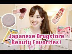 My Japanese Drugstore Beauty Favorites! おすすめの日本のドラッグストア美容グッズ
