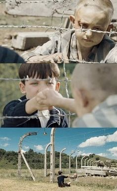 the boy in the striped pajamas - if you want to be depressed for a few months go ahead and watch this movie.