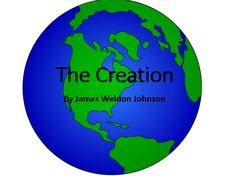 Creation Story Differentiated activities suitable for Key Stage 1 and Key Stage 2 I used this lesson for an observation. Primary Teaching, Teaching Resources, Day Book, This Book, James Weldon Johnson, Creation Bible, Key Stage 2, Angel Cards, Bible Stories