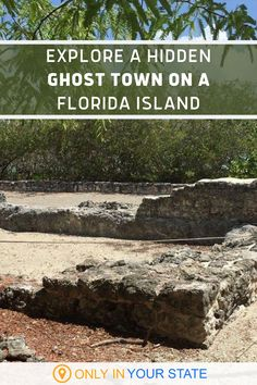 There's an abandoned island in the Florida Keys that's home to a fascinating ghost town. Visitors are welcome to explore the site and see the ruins for themselves. All you'll need is a kayak! | Affordable Day Trips | Family Travel | Vacation Ideas | Historic | Unique Destinations | Beach Trip With Friends Vacation Trips, Vacation Ideas, Vacation Spots, Day Trips, Vacations, Canoe Trip, Beach Trip, Summer Travel, Summer Fun