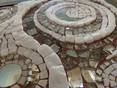 Shooting Stars (detail) mosaics from  Eftychia Finou