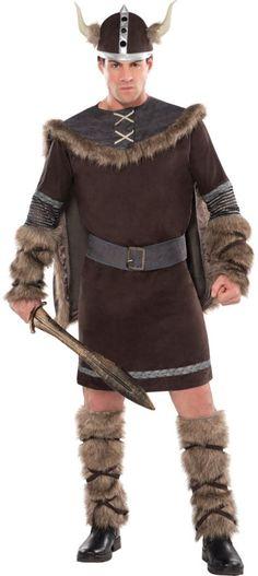 warrior costume Viking adult mens