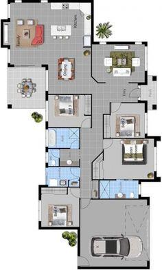 DanBuilt House Plan - Murrumbidgee Another way to do it ...