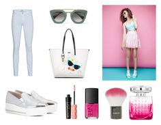"""""""[Pastel-Skinny-Look] 2016 BRYAN YANG'S PERFECT MATCHING 207"""" by bryan-yang ❤ liked on Polyvore featuring Topshop, Miu Miu, 7 For All Mankind, Karl Lagerfeld, Prada, Benefit, Jimmy Choo and NARS Cosmetics"""