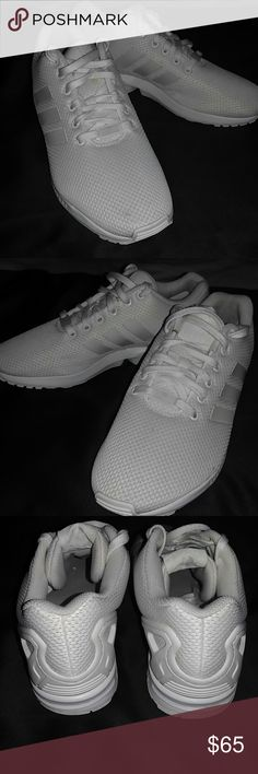 Shop Men s Adidas White size Sneakers at a discounted price at Poshmark.  Description  EXCELLENT cf141f8d2