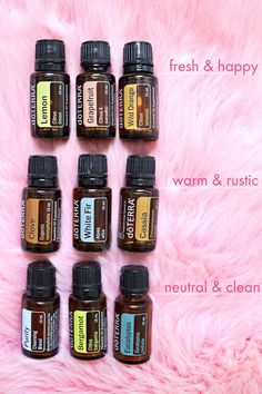 favorite doTerra essential oils to diffuse . via A Beautiful Mess Essential Oil Diffuser Blends, Essential Oil Uses, Doterra Diffuser, Aromatherapy Oils, Doterra Essential Oils, Doterra Blends, Parfum Spray, Young Living, Lavender Oil