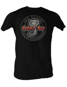 Karate Kid All Valley Cobra Kai Logo T-shirt