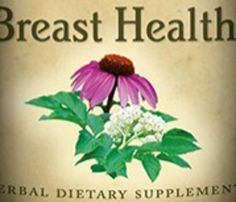 BREAST HEALTH Herbal Extract Tincture 100% Natural Herb USA Organic Certified