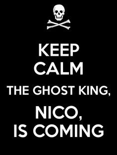 "I'm a Nico Fangirl, we don't do this ""calm"" thing. Haha last post of the night guys :D Tomorrow I might photospam you with Leo or something :3"